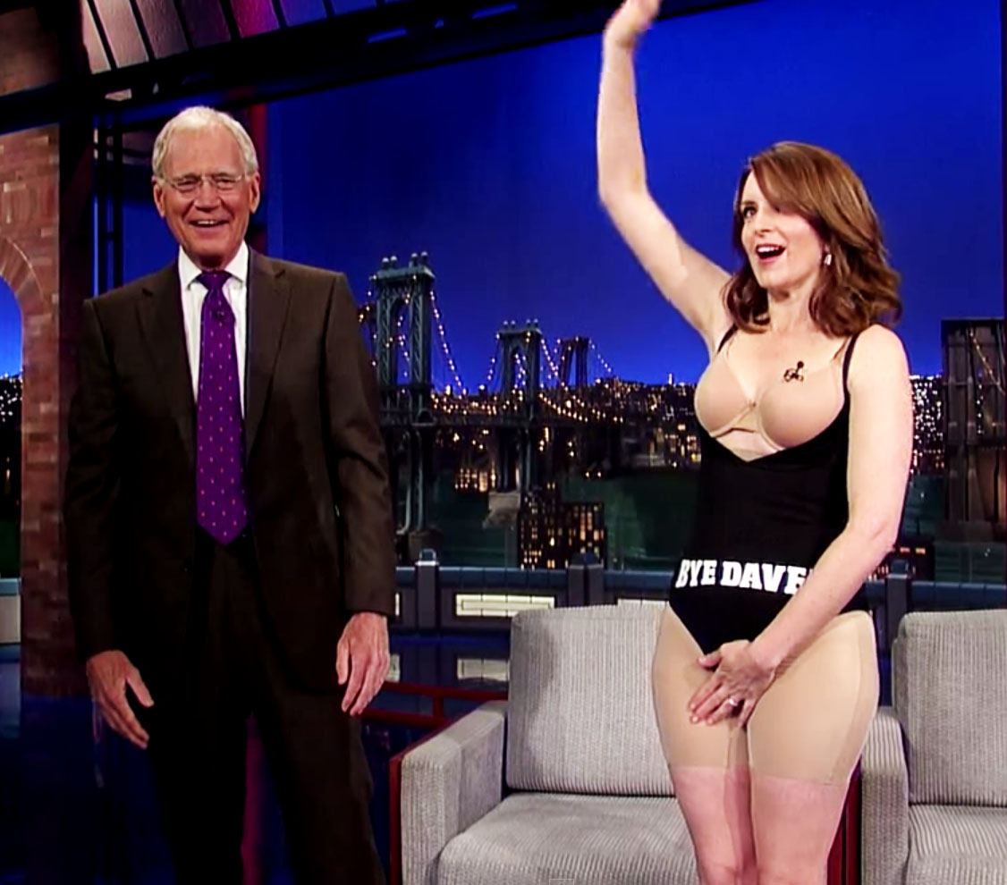 tina fey and david letterman