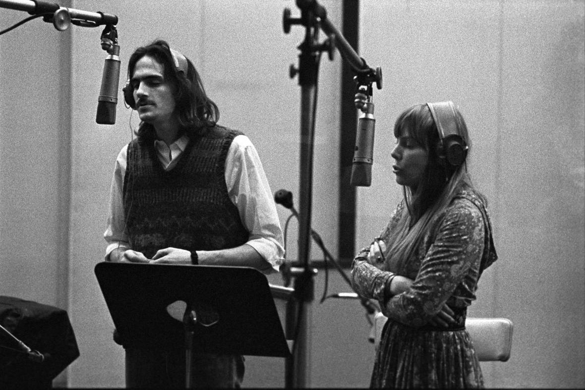 james taylor and joni mitchell