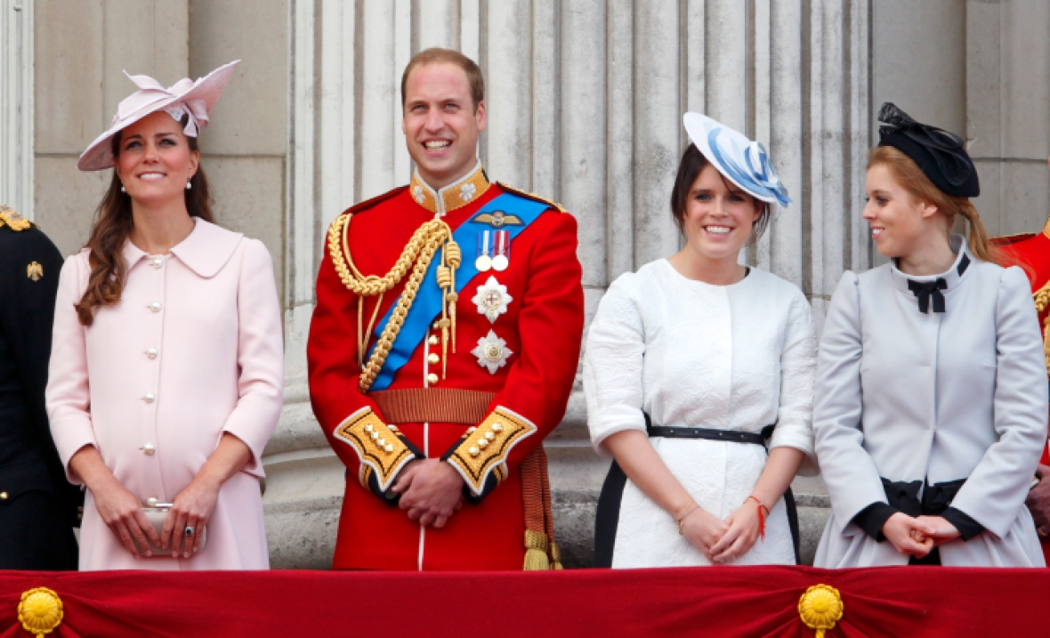 princess beatrice and kate middleton