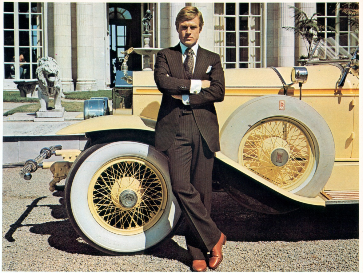 robert redford the great gatsby