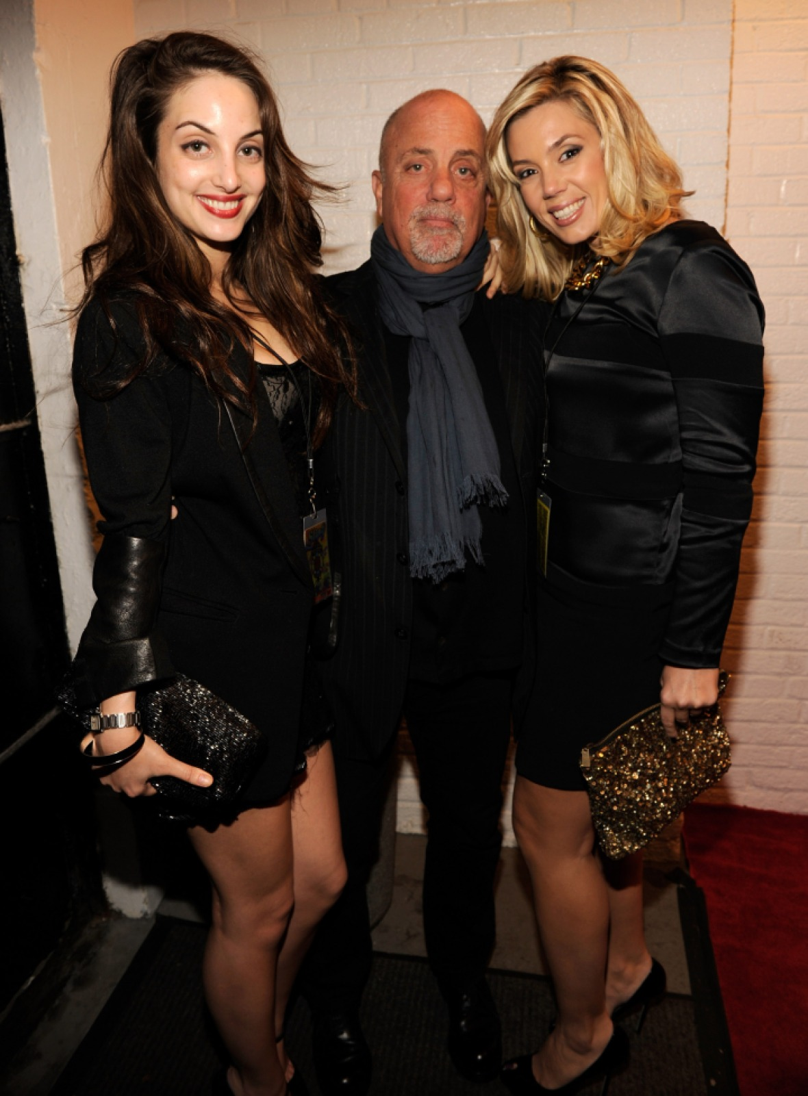 billy joel, alexis roderick and alexa ray joel