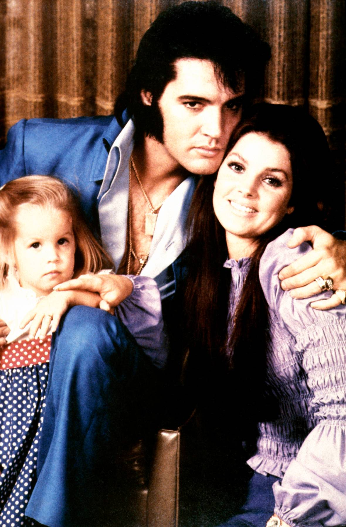 elvis presley family