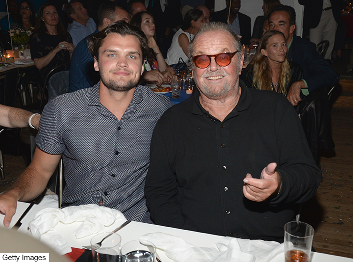 jack nicholson and son ray