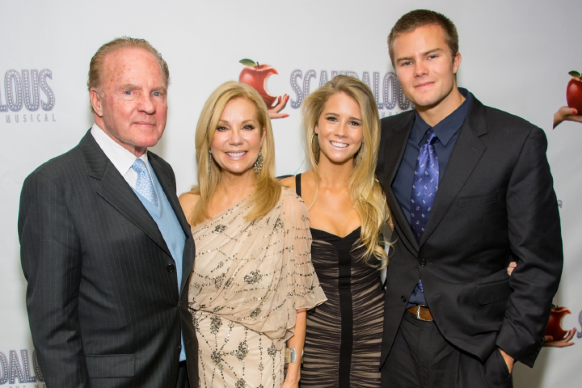 kathy lee gifford and frank gifford family