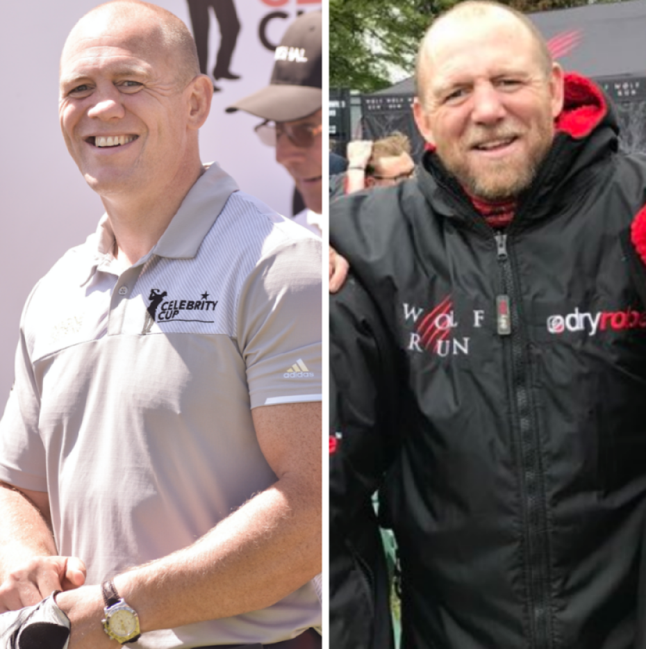 mike tindall before and after