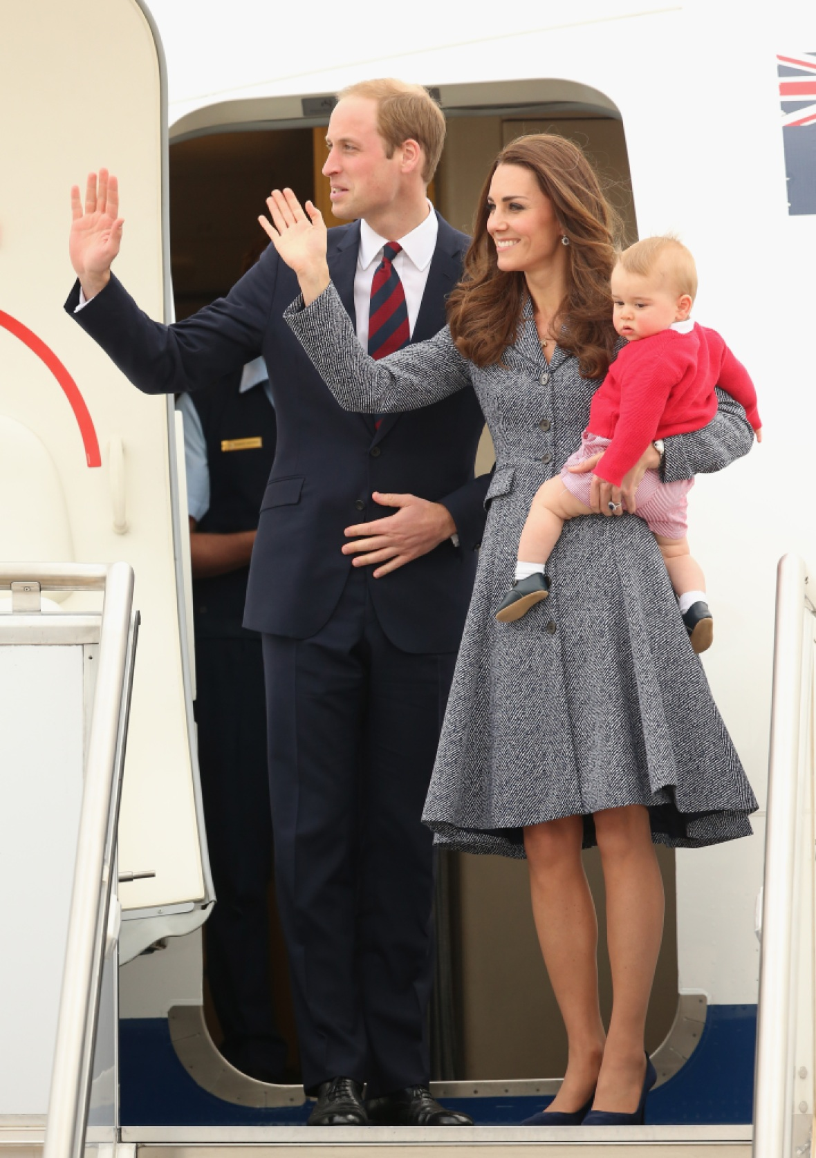 prince george royal tour