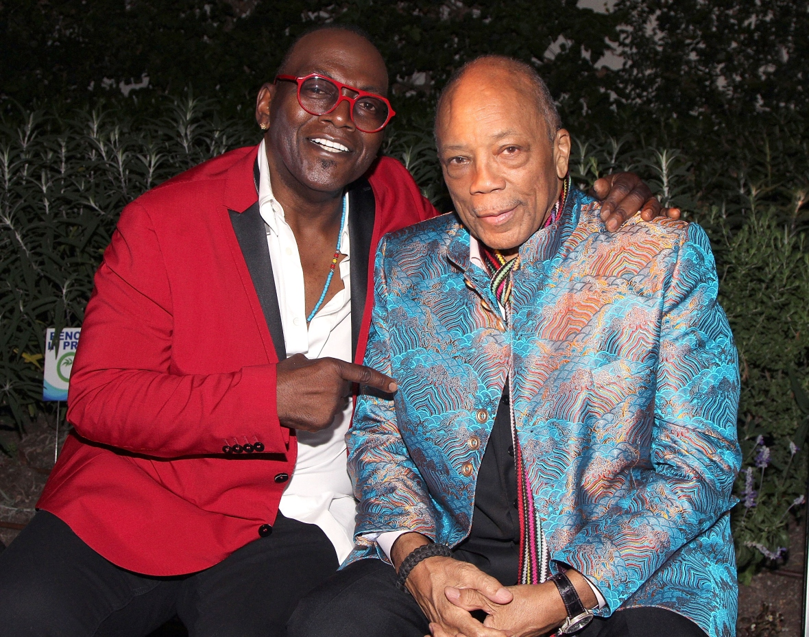 quincy jones and randy jackson