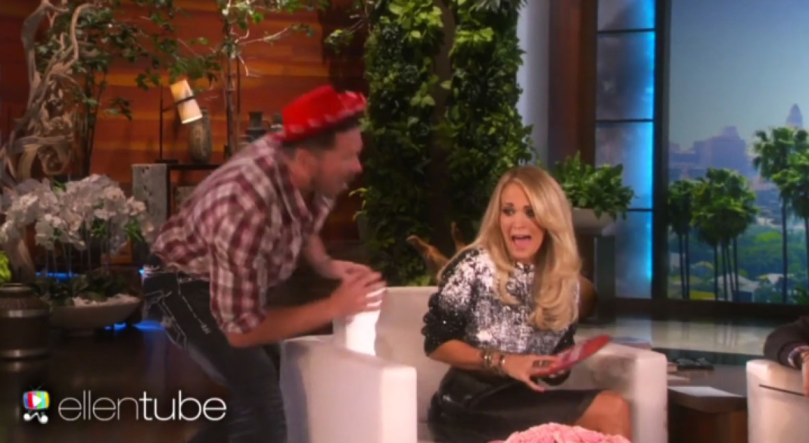 carrie underwood 'the ellen show'