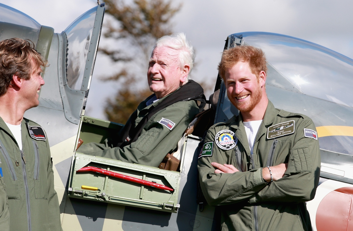 prince harry and tom neil