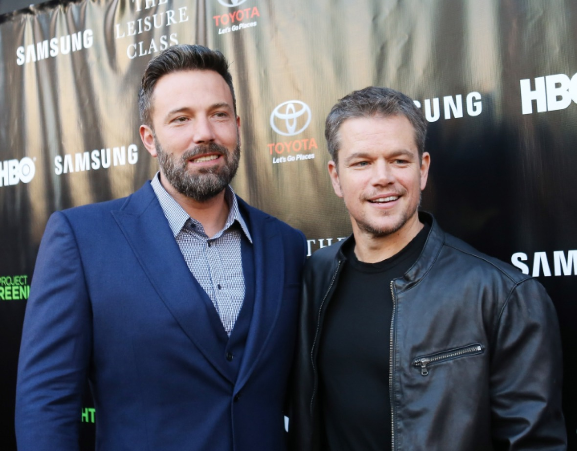 matt damon and ben affleck (photo credit: getty images)