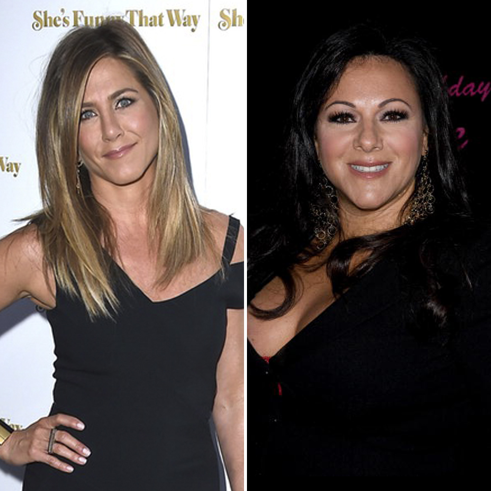jennifer aniston denise white getty images