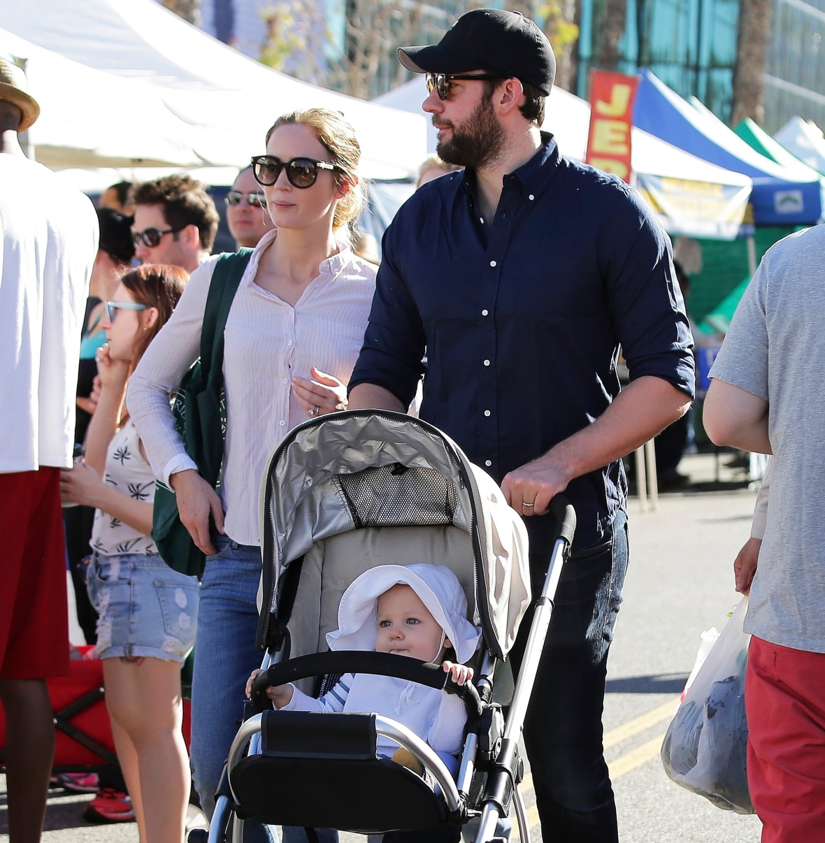 john krasinski daughter splash