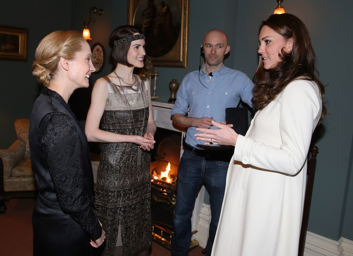 kate middleton joanne froggatt getty images