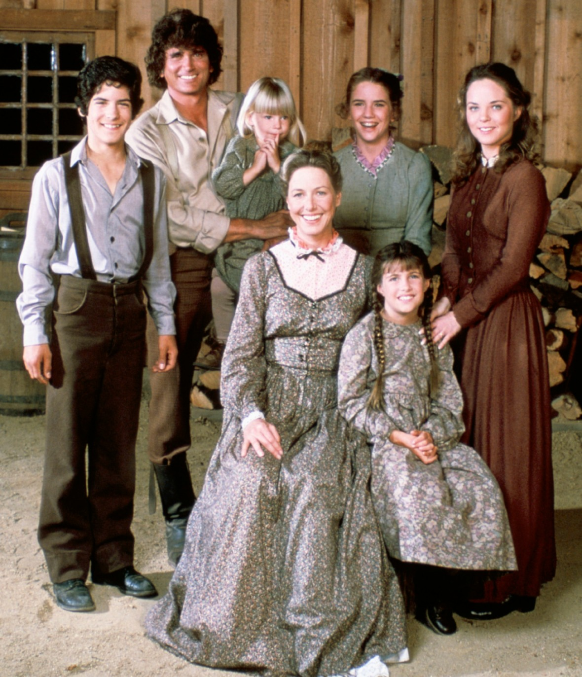 little house on the prairie cast getty images