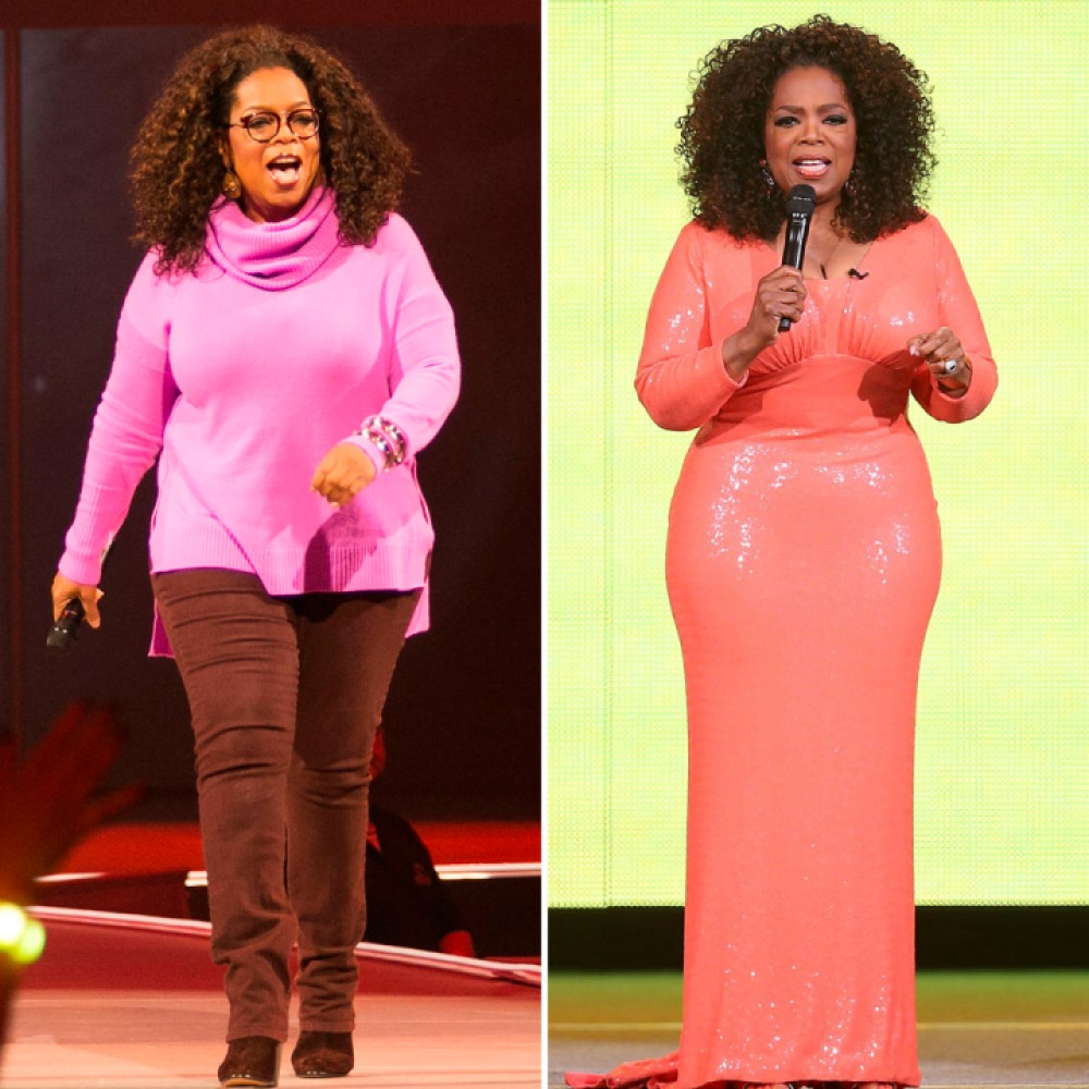 oprah weight loss getty images