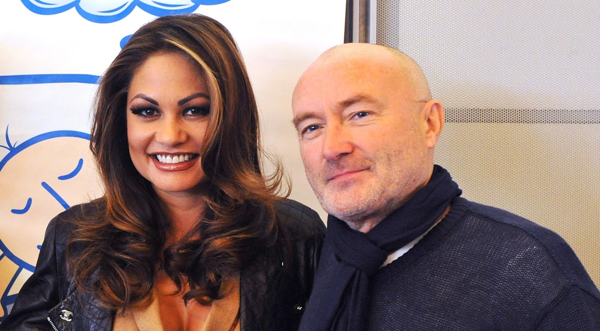 phil collins wife getty images