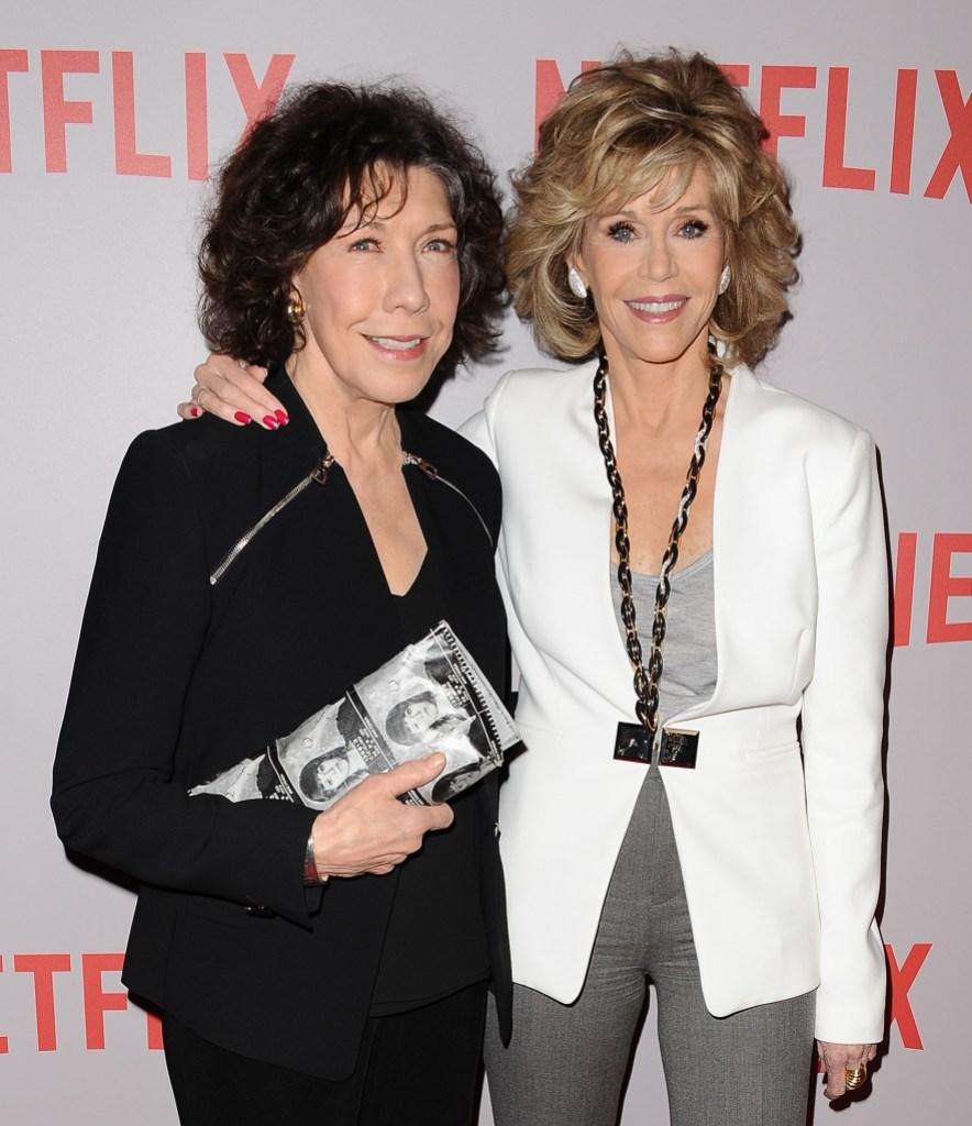Jane Fonda Lily Tomlin