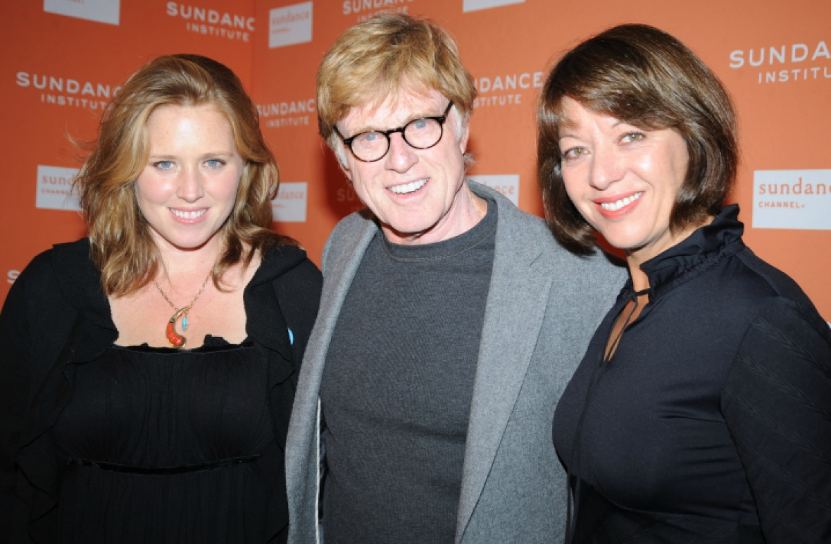 robert redford amy redford sibylle szaggars getty images