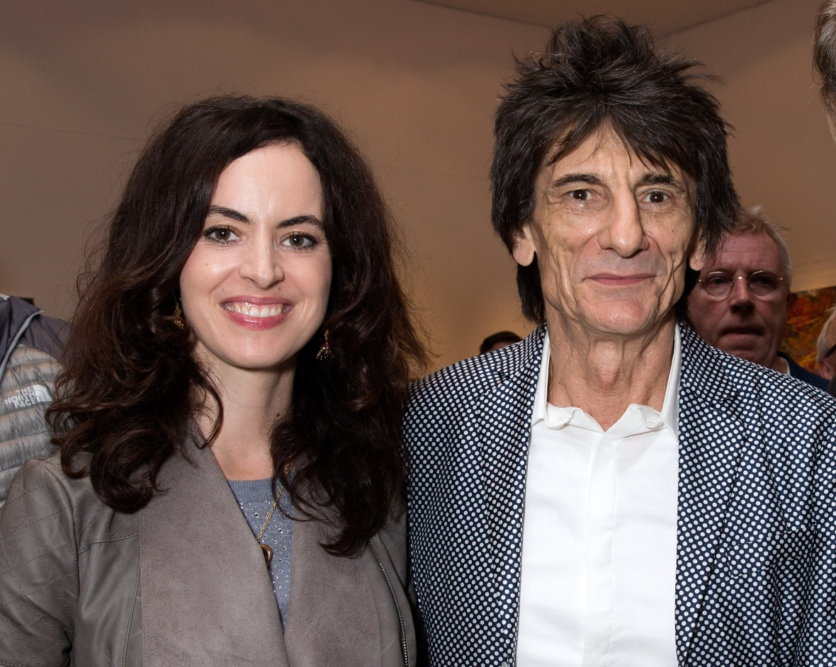 ronnie wood sally humphreys getty images