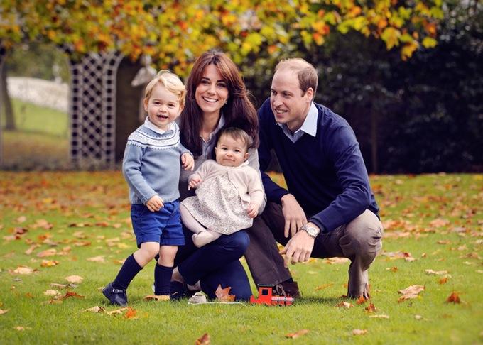 royal family christmas card