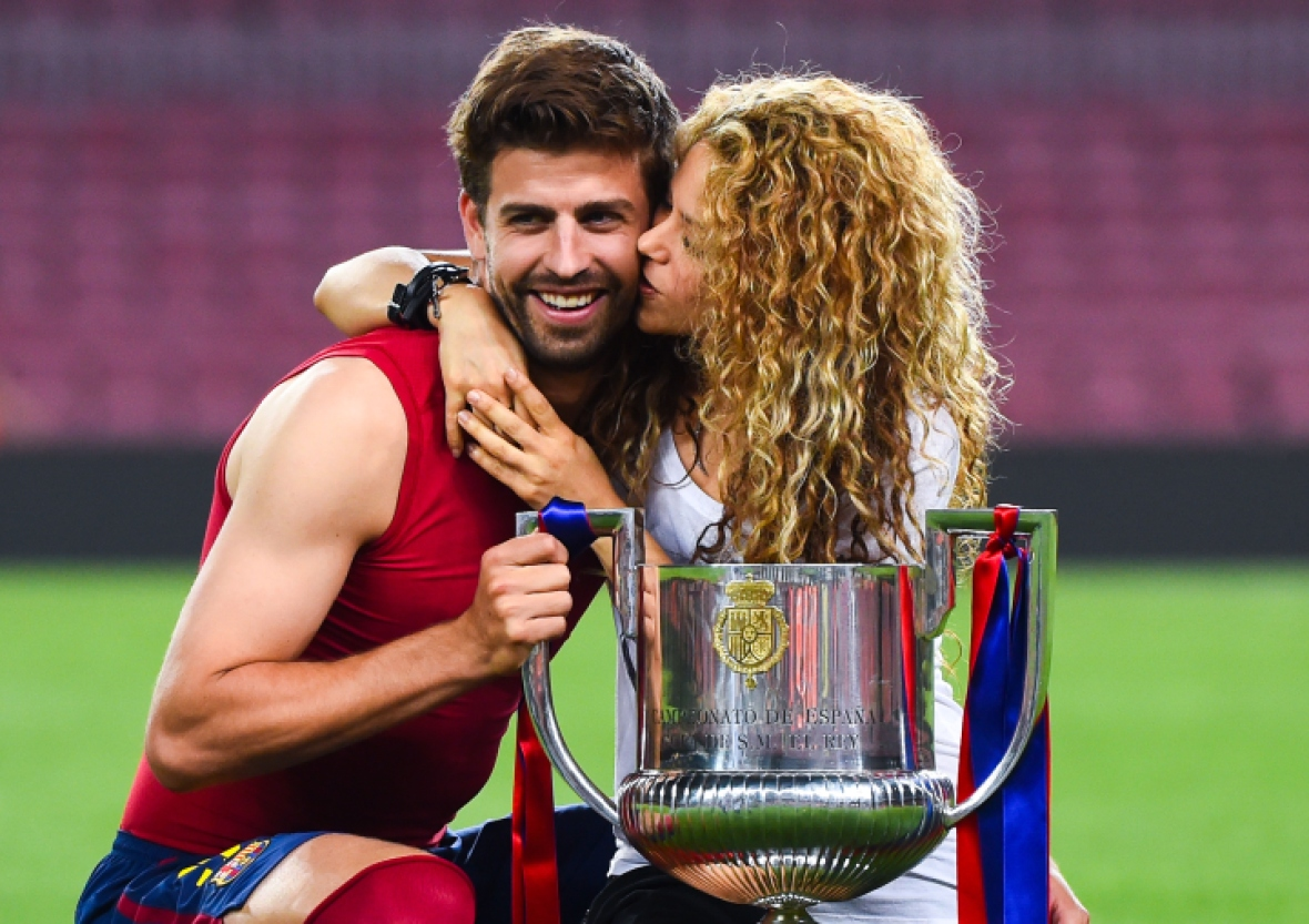 shakira gerard pique getty images