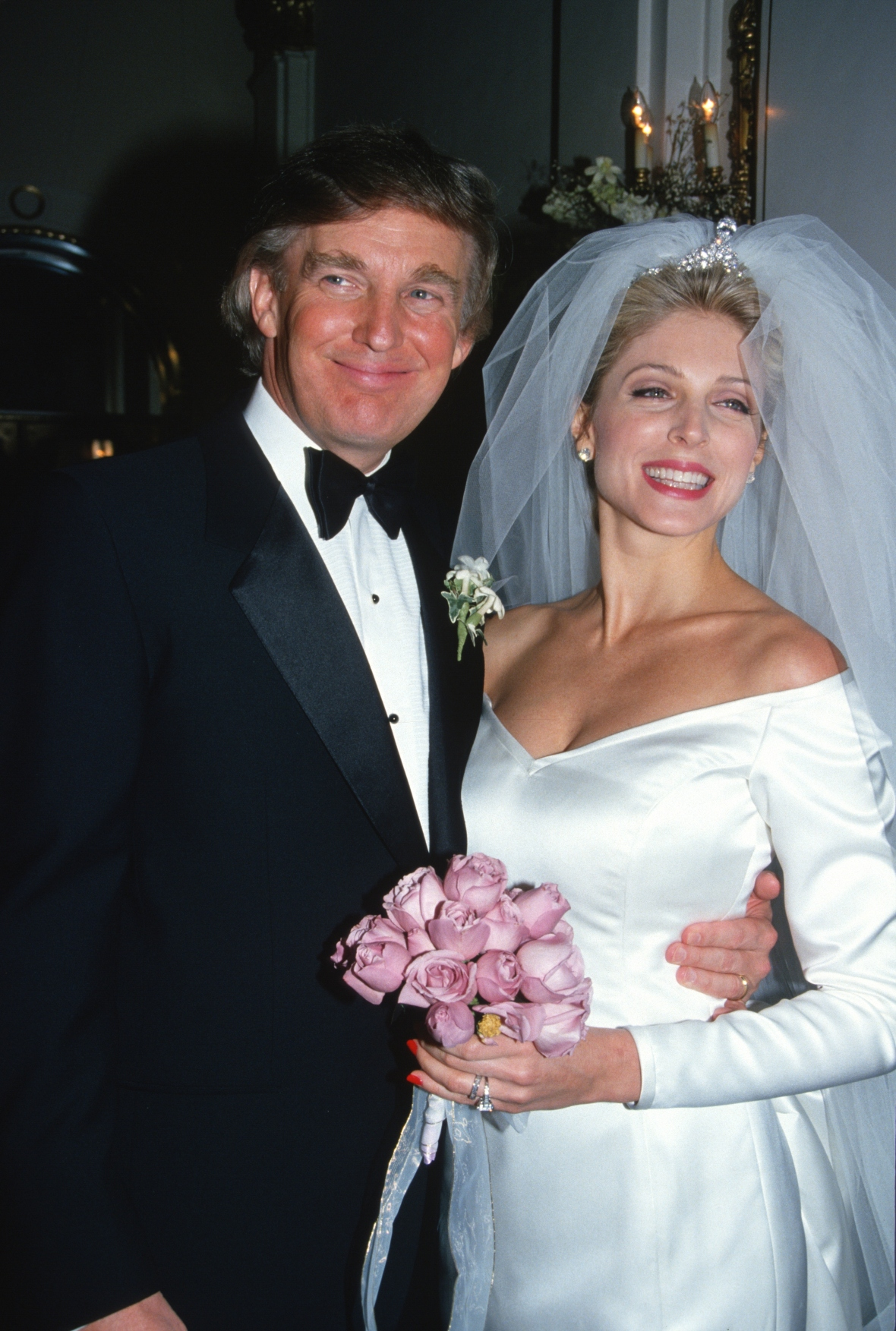 donald trump marla maples getty images
