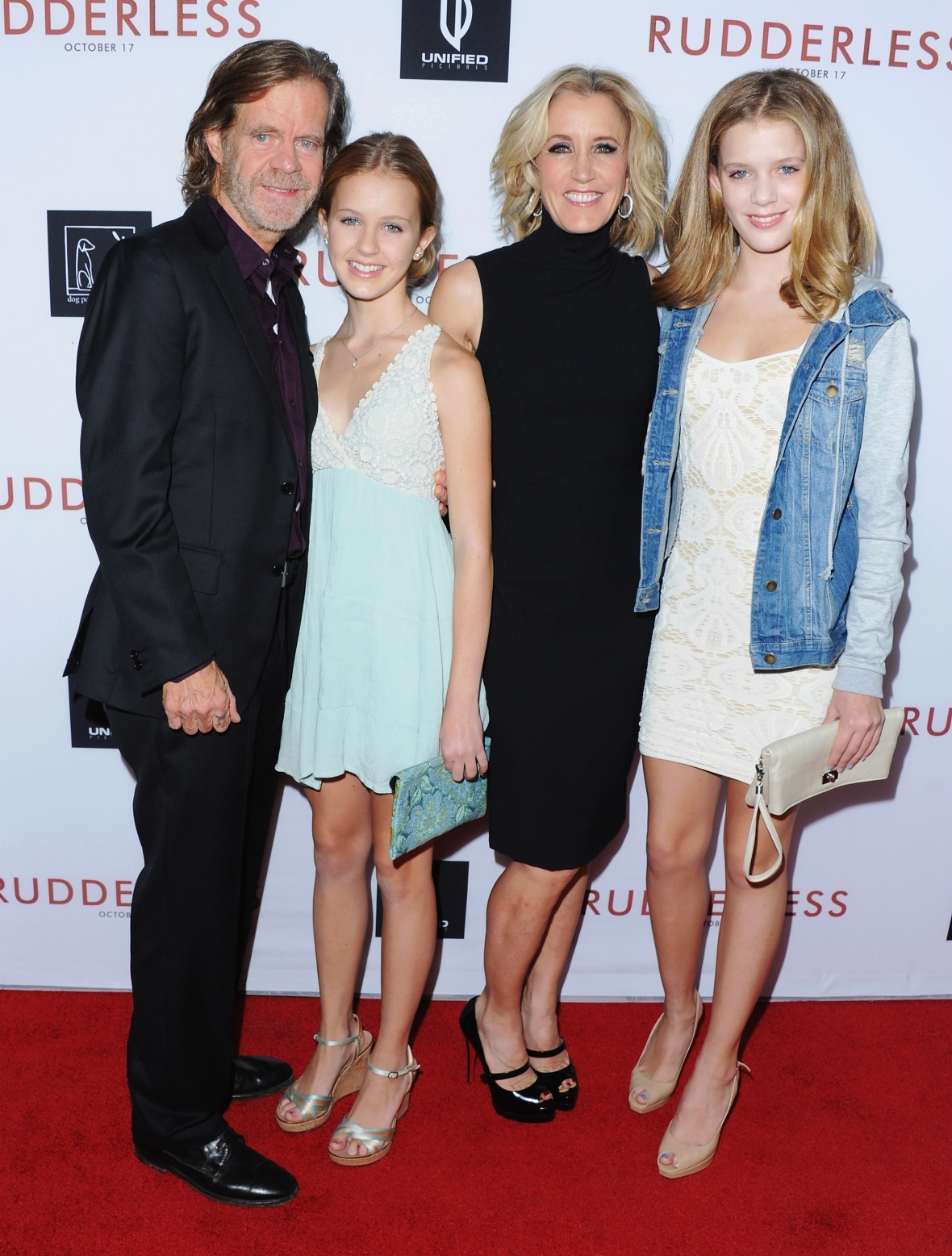 felicity huffman daughters getty images