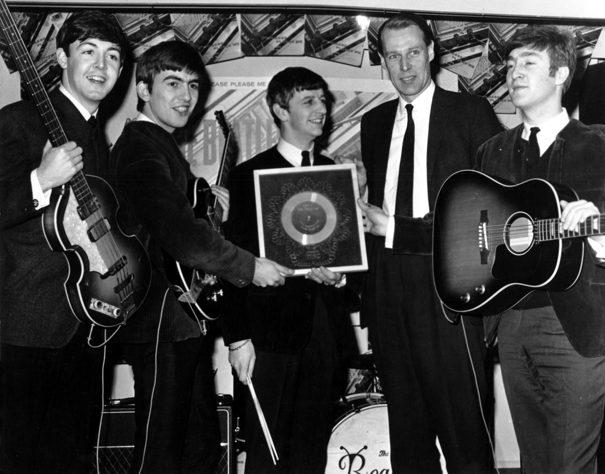 george martin beatles getty images