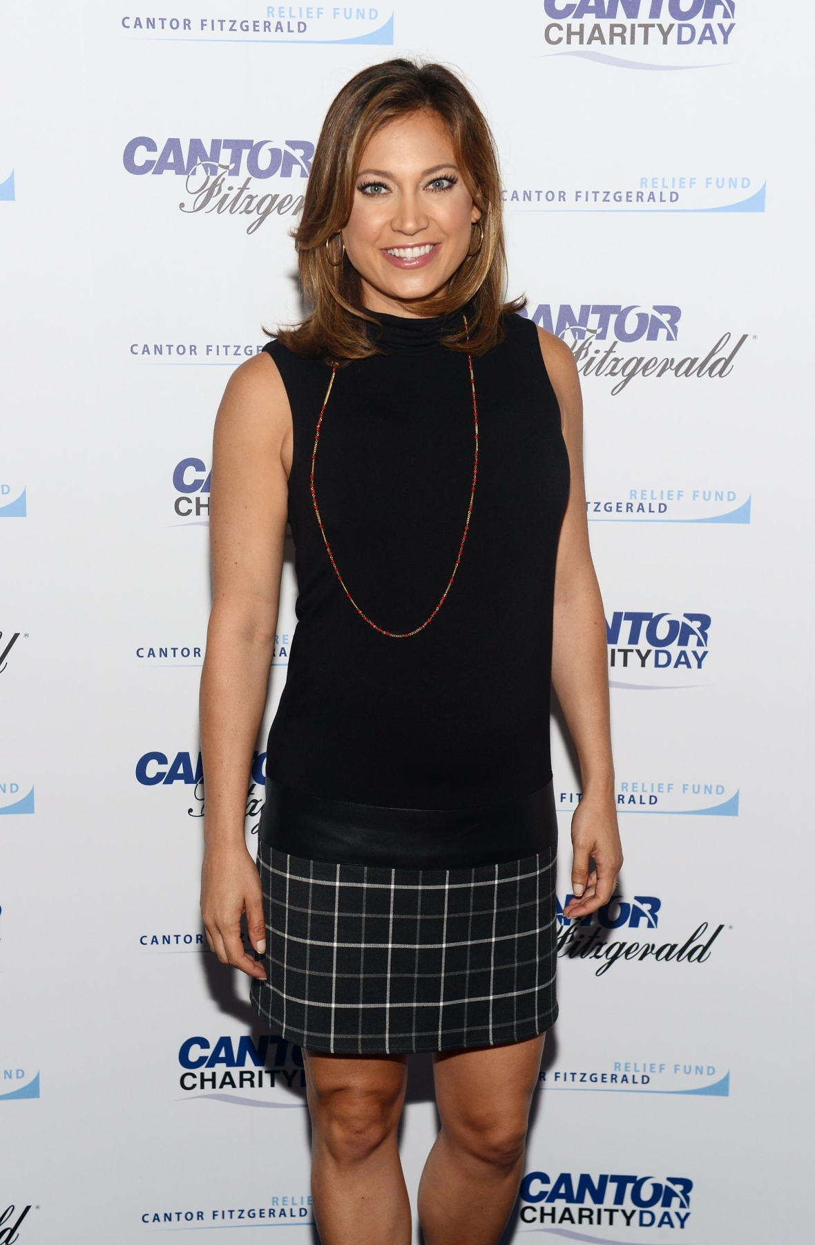 ginger zee getty images