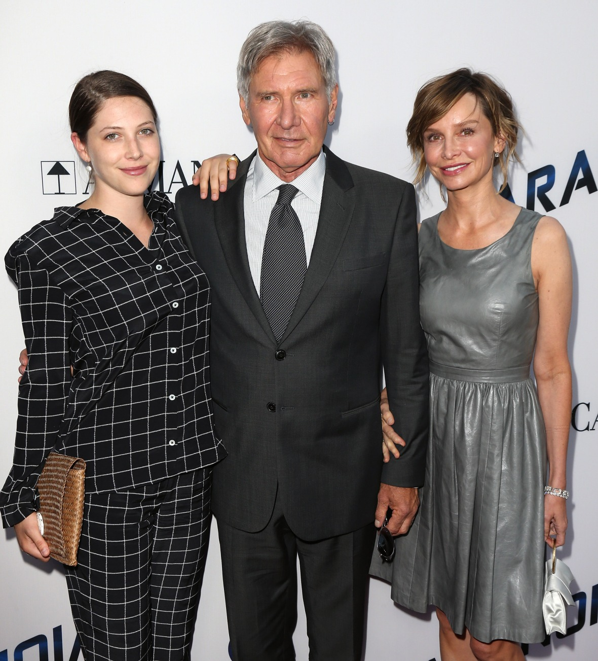 harrison ford family getty images