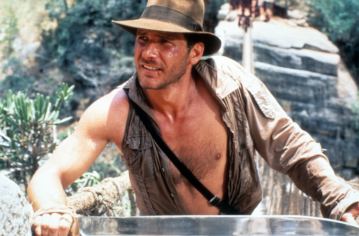 harrison ford 'indiana jones' getty images