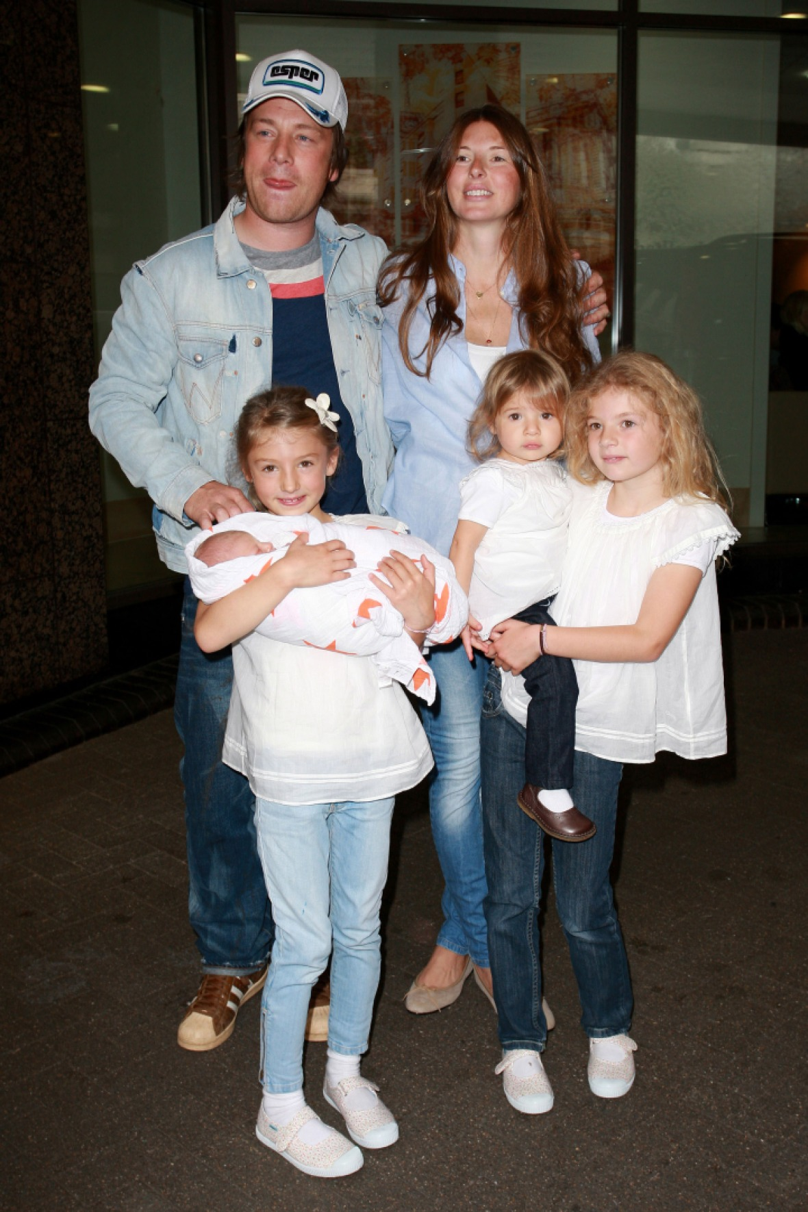 jamie oliver family getty images
