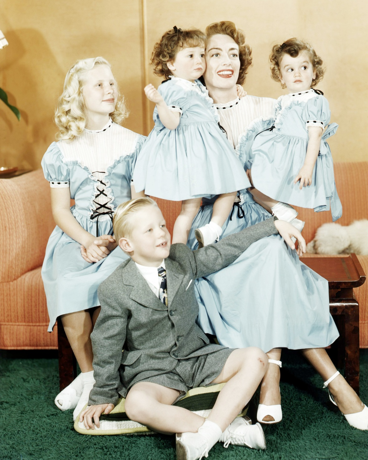 joan crawford kids getty images