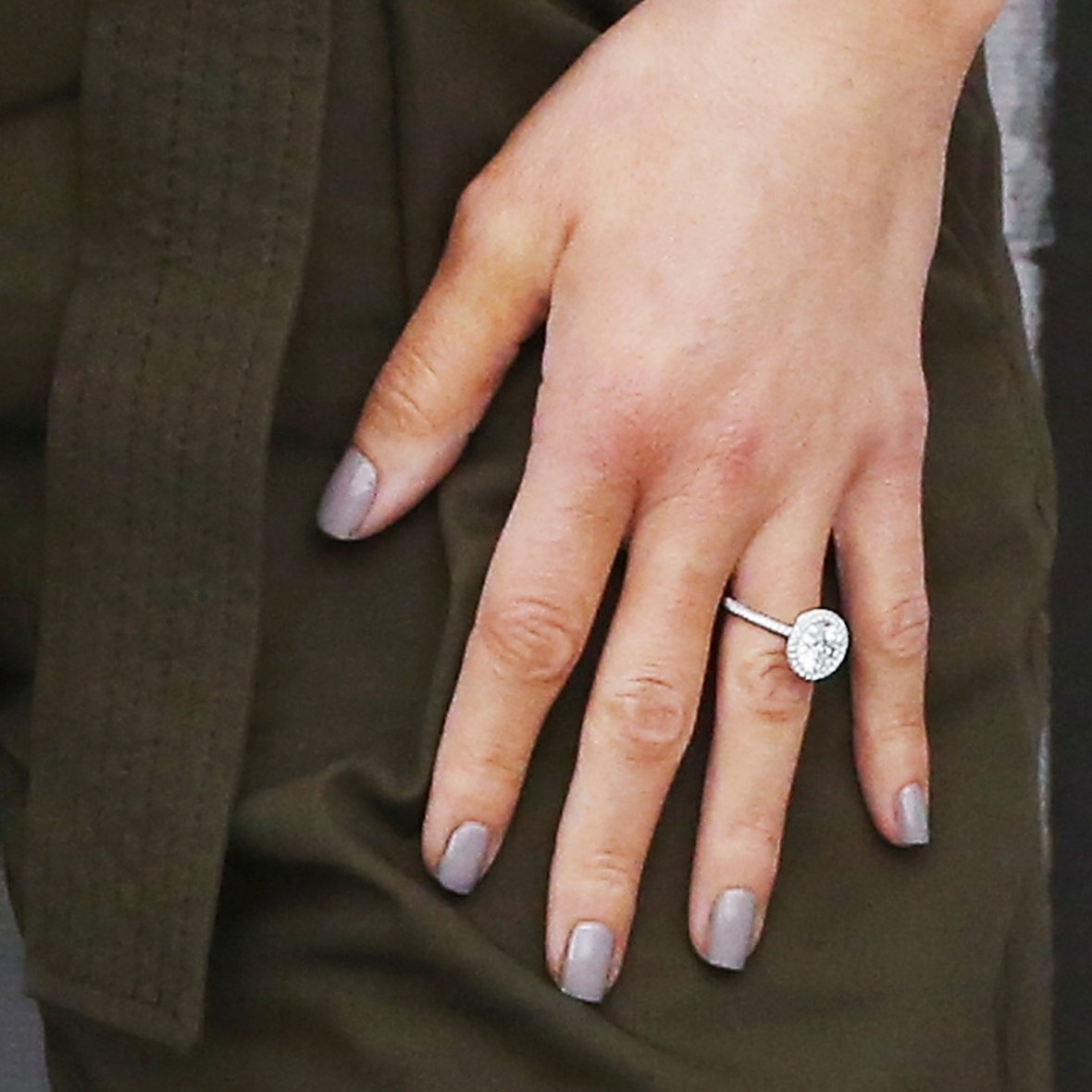 maria menounos engagement ring getty images