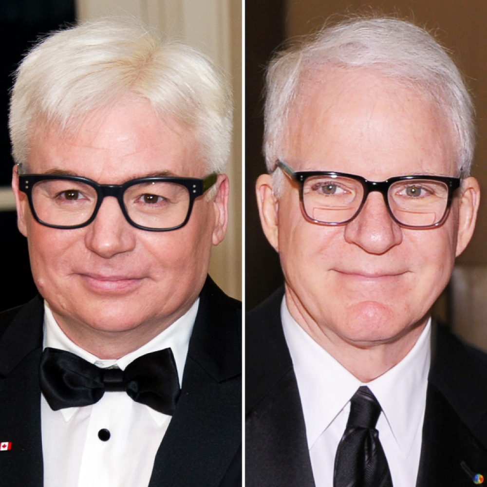 mike myers steve martin getty images