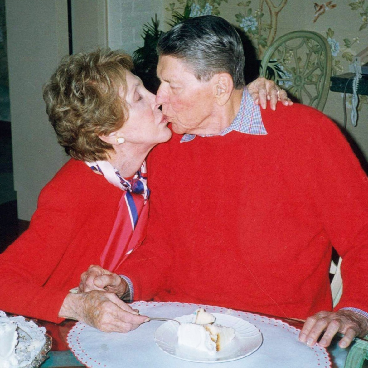 nancy reagan ronald reagan getty images