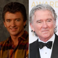 Patrick Duffy then and now