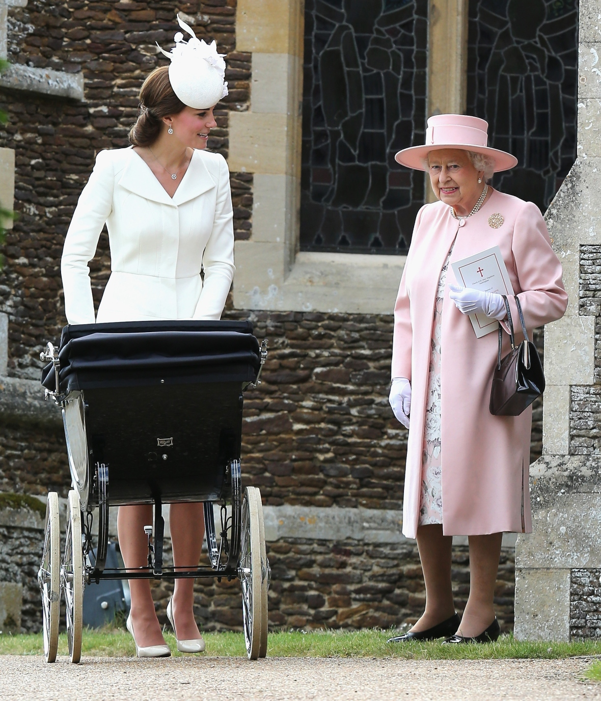 queen elizabeth ii kate middleton getty images