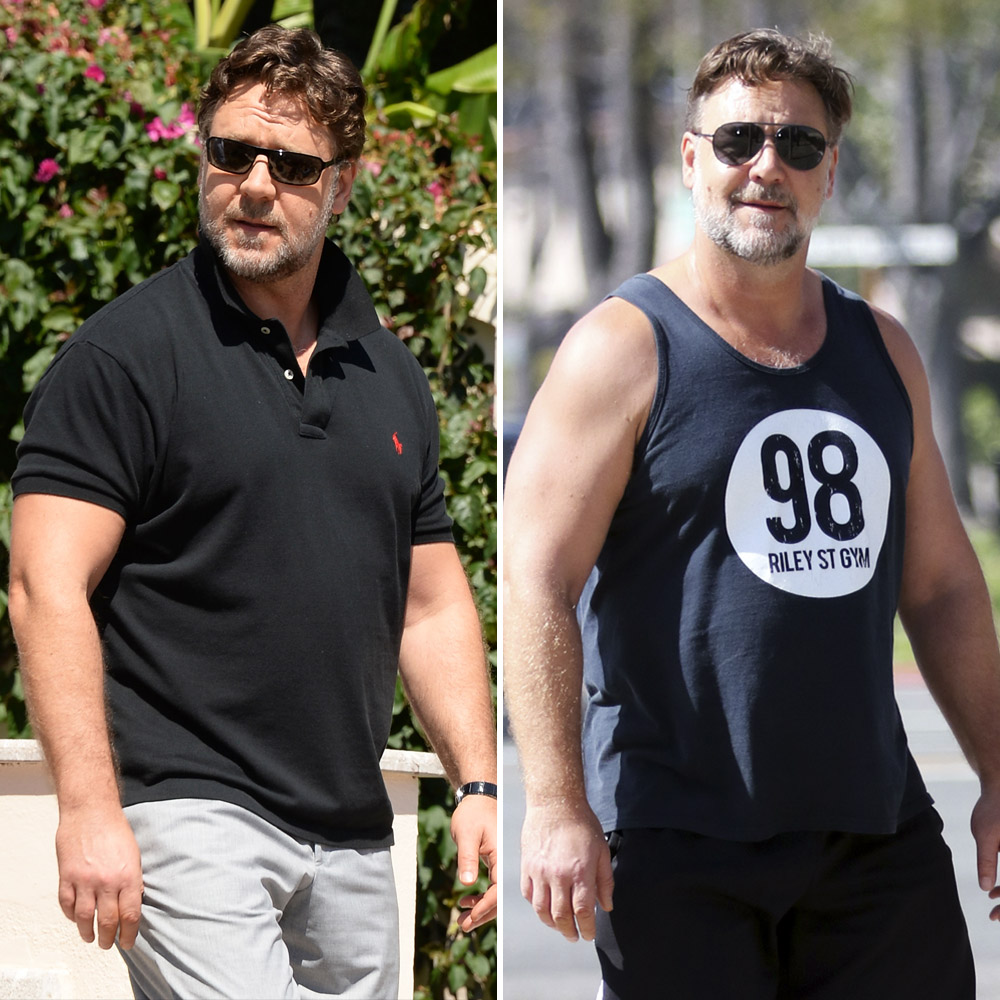 russell crowe getty images splash