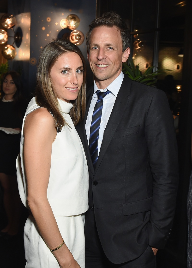Seth Meyers and Wife Alexi Ashe Welcome Baby No. 1 ...