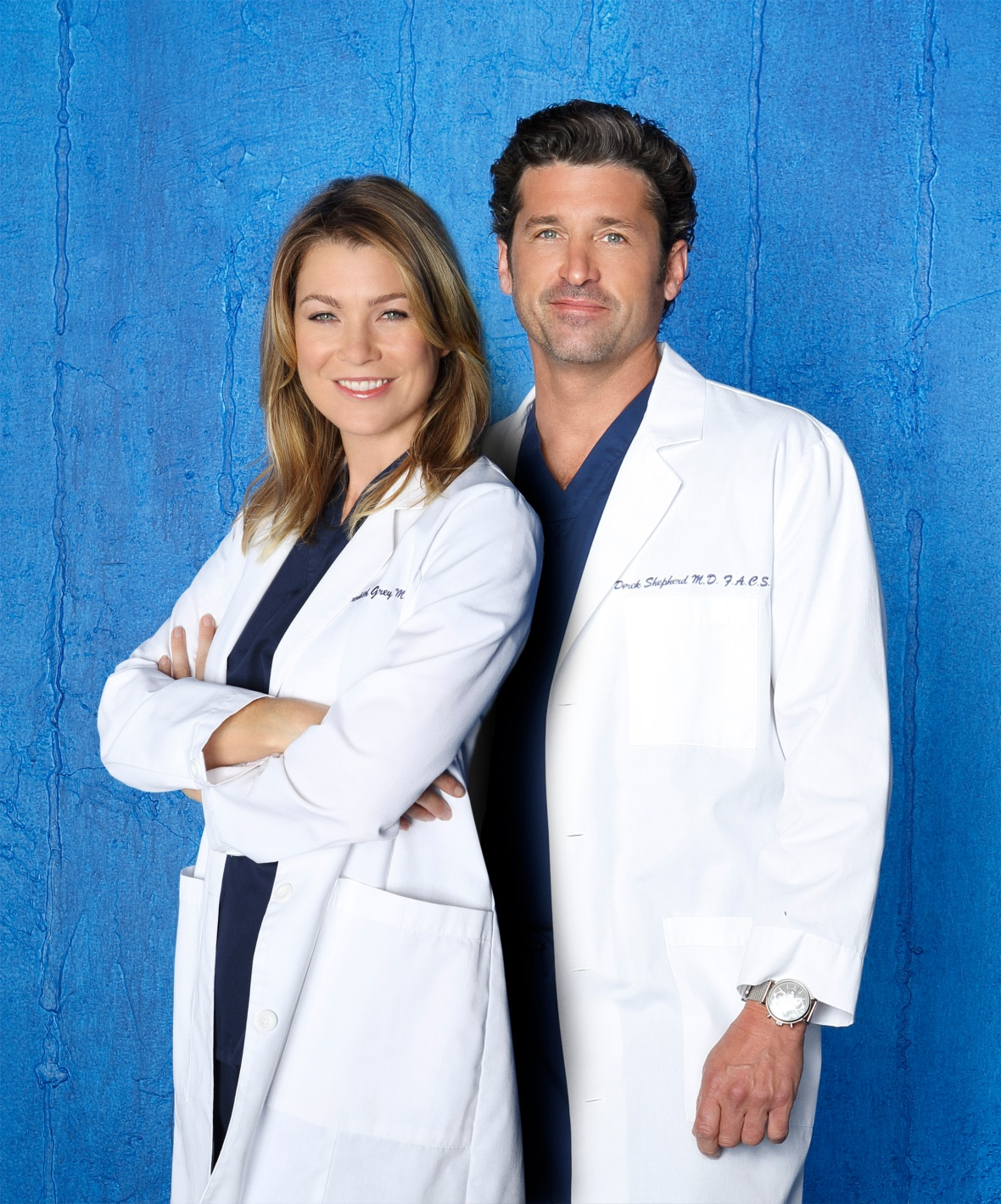 ellen pompeo patrick dempsey getty images