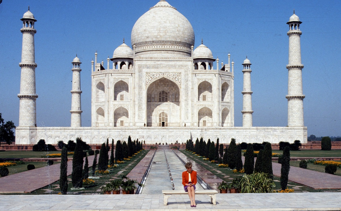 princess diana taj mahal (getty)