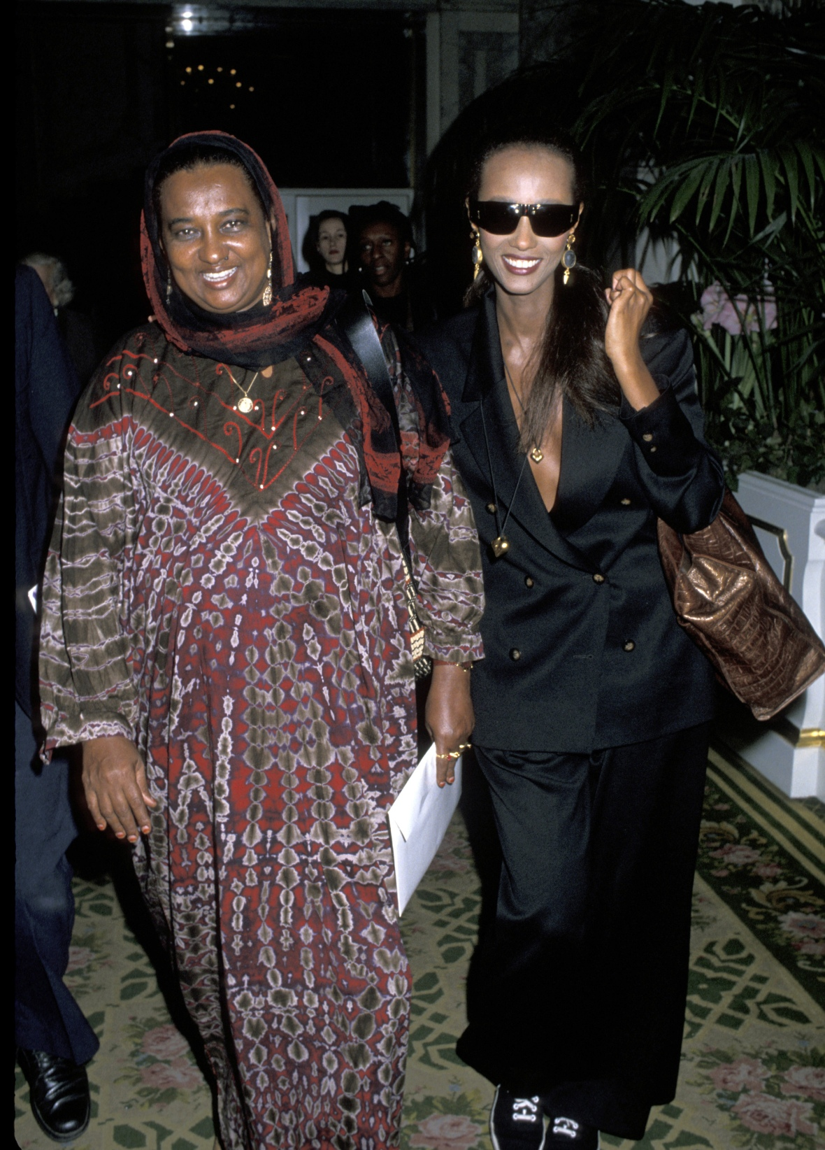 iman mother getty images
