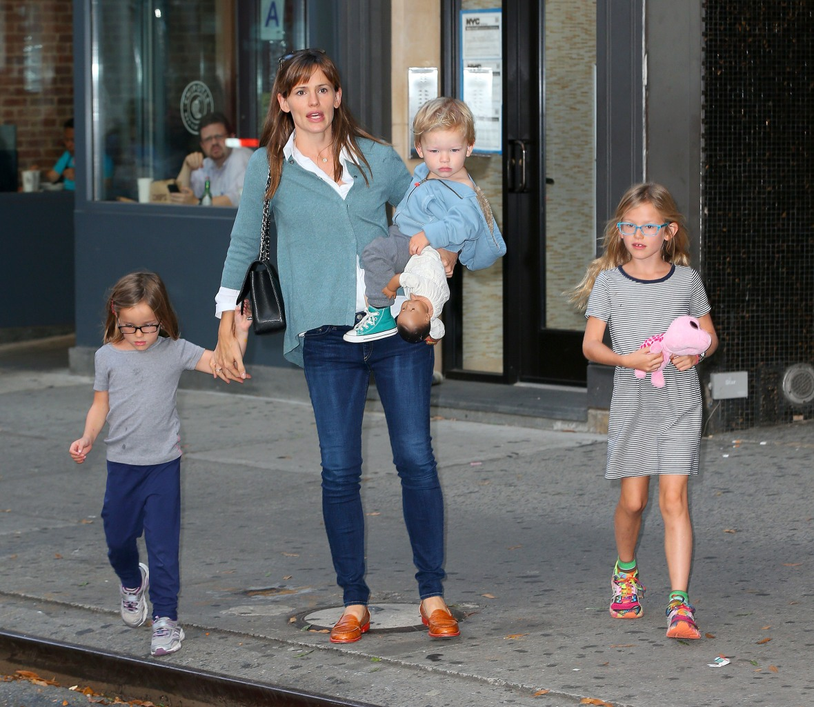 jennifer garner kids