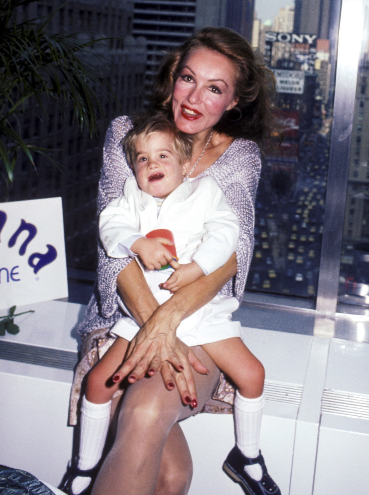 julie newmar son getty images