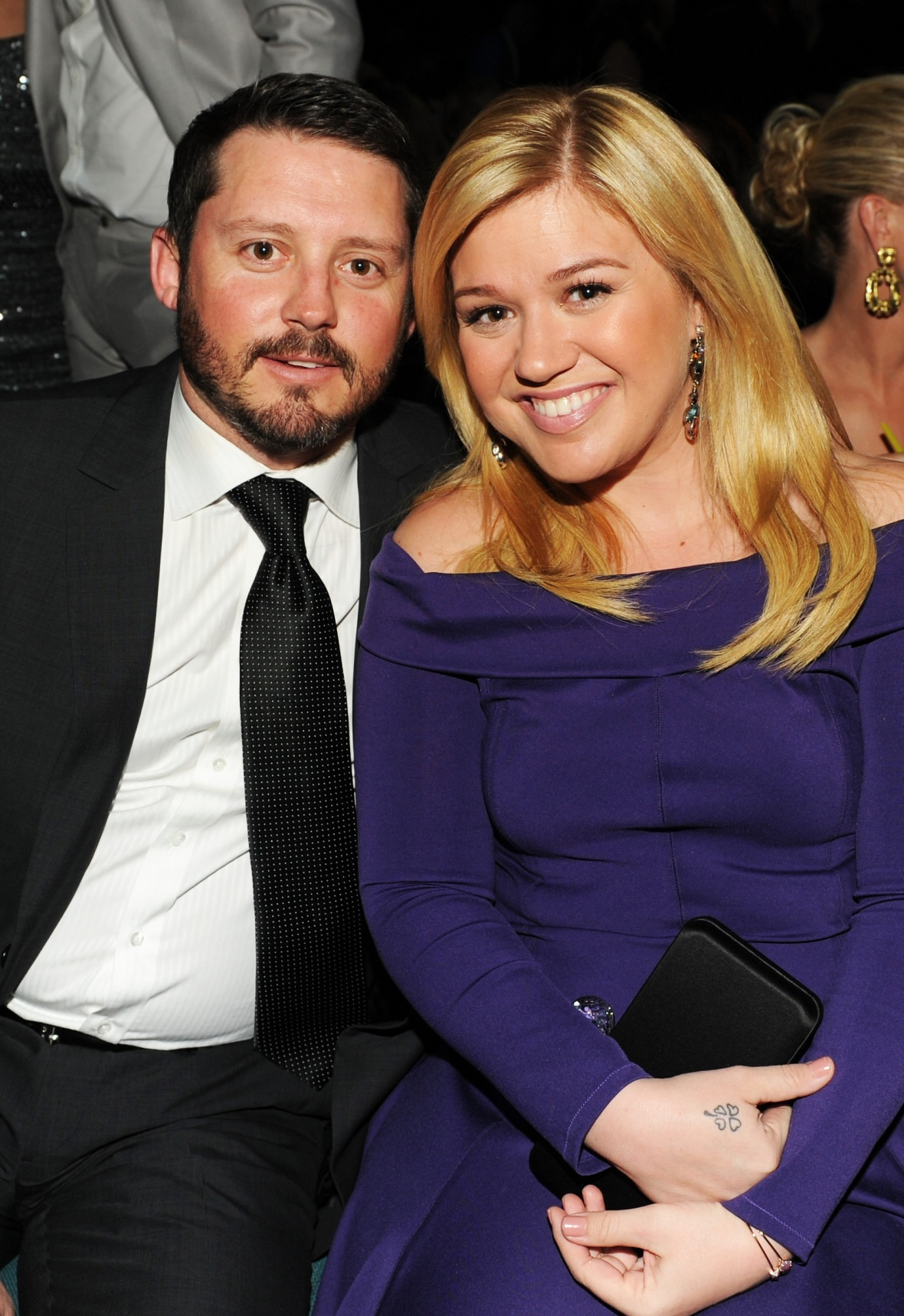 kelly clarkson brandon blackstock getty images