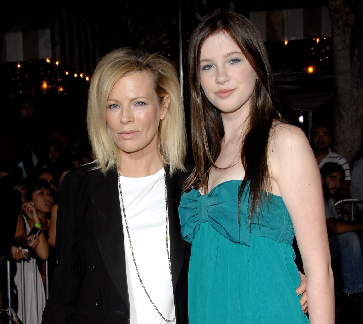 kim basinger ireland baldwin getty images