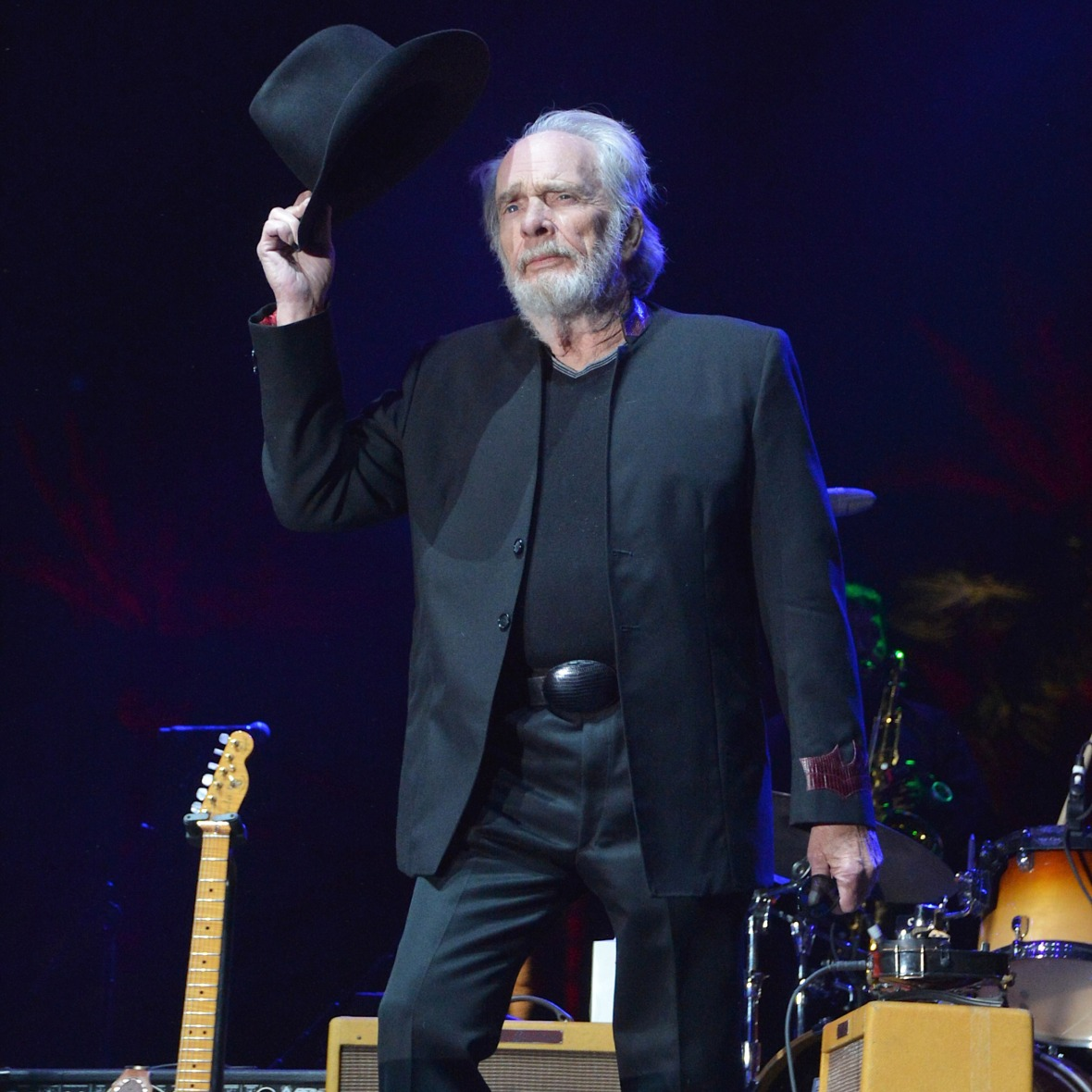 merle haggard getty images