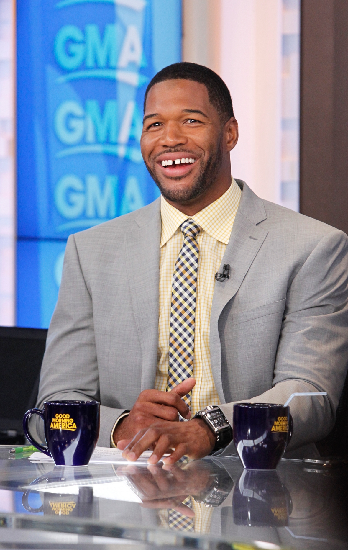michael strahan getty images