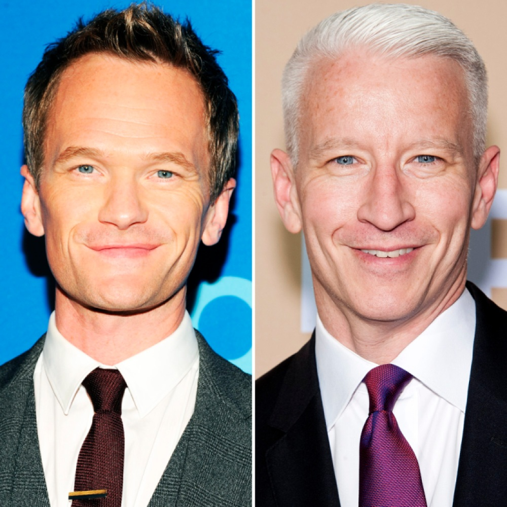 neil patrick harris anderson cooper getty images